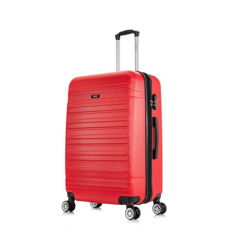 DUKAP - Maletas de viaje  71 Cm 23 Kg Rojo