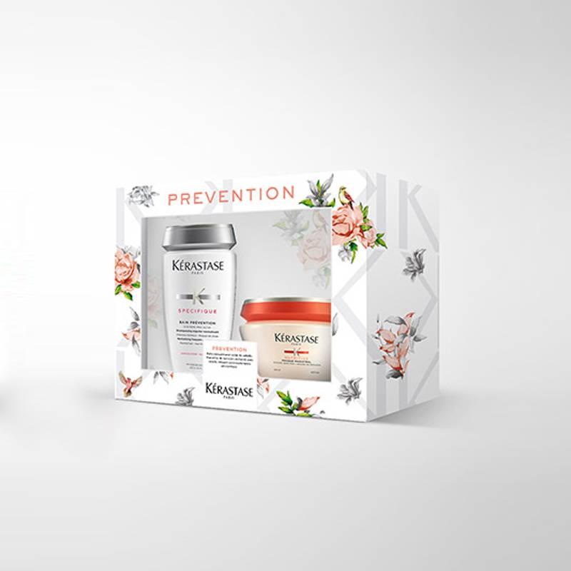 KERASTASE - Pack Prevention Anti Caída para cabello seco, normal a fino