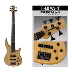 FREEMAN - Freb705 Nt Bajo Electrico 5 Cuerdas Freeman