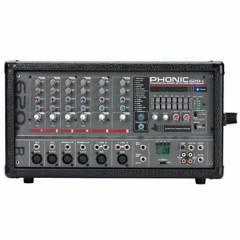 PHONIC - POWERPOD 620 R BK MIXER C/POWER ANALOGO PHONIC
