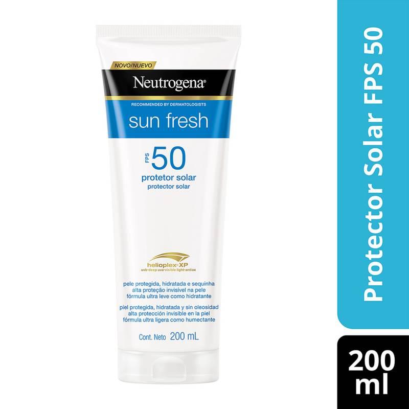 NEUTROGENA - NEUTROGENA® Sun Fresh Protector Solar FPS 50 200 ML
