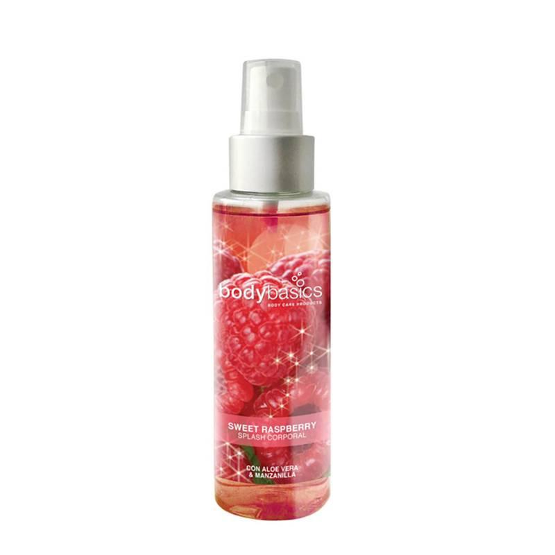 BODYBASICS - Splash Corporal Sweet Raspberry 130 ml