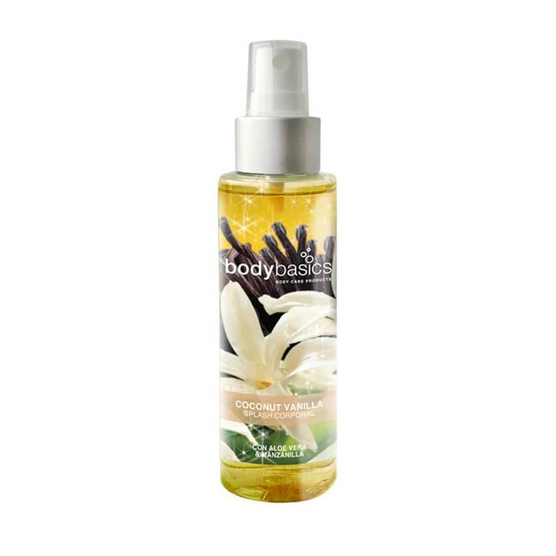 BODYBASICS - Splash Corporal Coconut Vanilla 130 ml