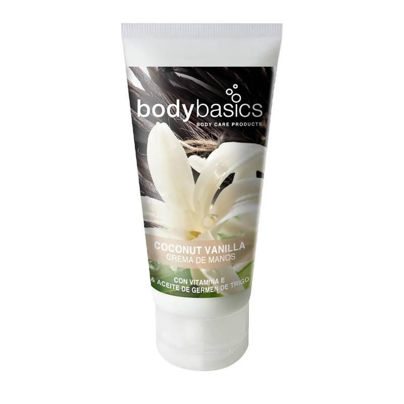 BODYBASICS - Crema de manos Coconut Vanilla 30 ml