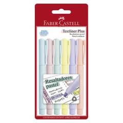 FABER CASTELL - Textile MarkerPlus Blíster x 5