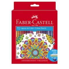 FABER CASTELL - Ecolápices de Color Largo Estuche x 72