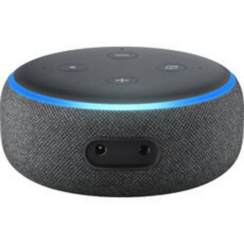 AMAZON - Parlante inteligente ECHO DOT 3  Gris