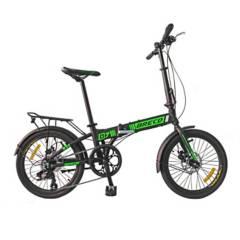 BRECD - Bicicleta Plegable De Aluminio Aro 20