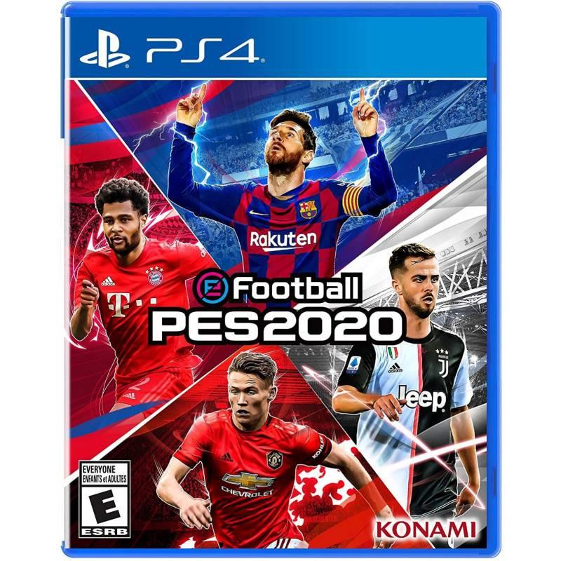 KONAMI - Videojuego PES 2020 - PS4