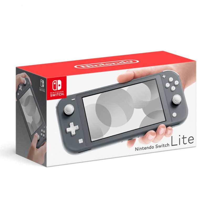 NINTENDO - Consola Nintendo Switch Lite Gris 32GB