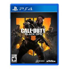 ACTIVISION - Videojuego Call of Duty Black OPS 4 - PS4