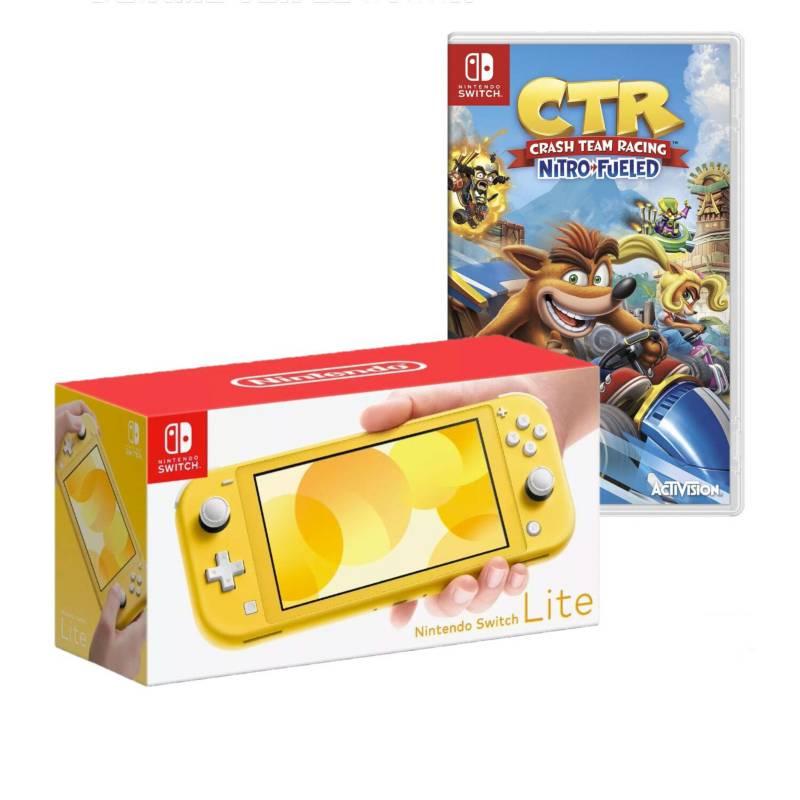 NINTENDO - Consola Nintendo Switch Lite +Crash CTR