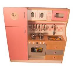 MONDO FELICE - Cocina Refrigeradora Rosa