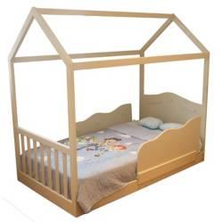 MONDO FELICE - Cama Nuvola Montessori 1.5 Plz