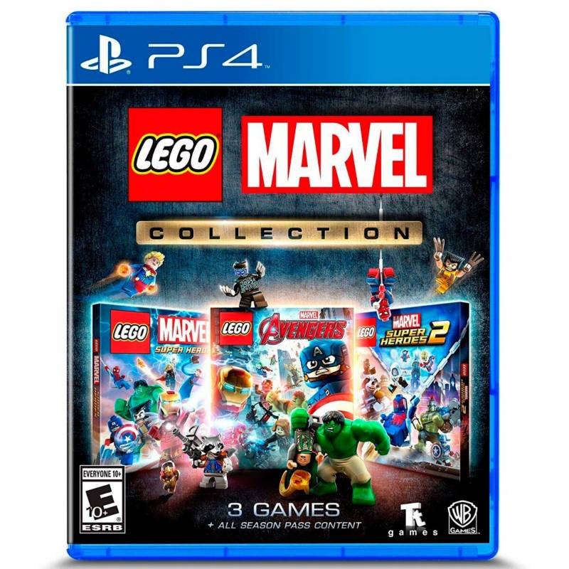 SONY - Juego PS4 Lego Marvel Collection