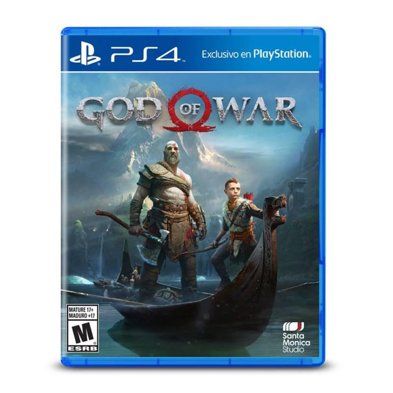 SONY - Videojuego GOD OF WAR  PS4
