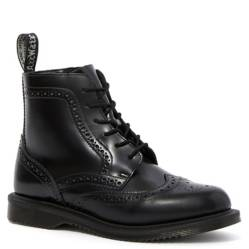 Dr. Martens - Botas Delphine Polished Smooth