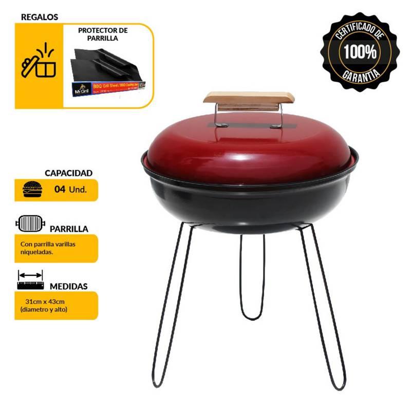 MR. GRILL - Mini Grill + BBQ Mat