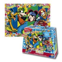 DISNEY - Rompecabezas 100 Pzas Mickey