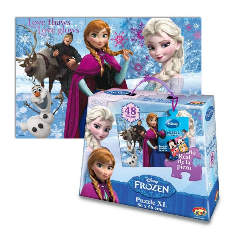 DISNEY - Rompecabezas XL 48 Pzas Frozen