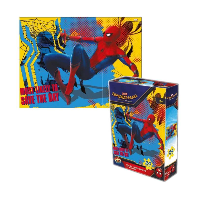 MARVEL - Rompecabezas 24 Pzas Spider-Man