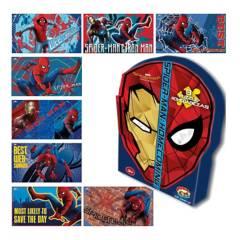 MARVEL - Caja 8 Rompecabezas 12 Pzas Spider-Man