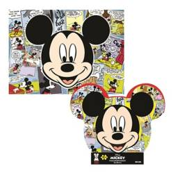 DISNEY - Rompecabezas Caja Metálica 60 Pzas Mickey 90 Años
