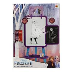 DISNEY - Pizarra Doble con Atril Frozen