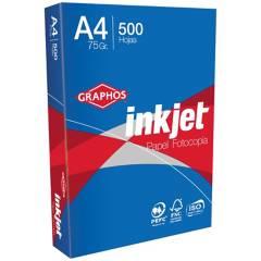 INKJET - Papel Fotocopia A4 500 Hojas