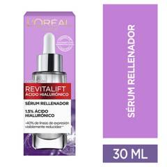 L´ORÉAL PARIS SKIN CARE - Sérum Facial Anti Arrugas Ácido Hialurónico Revitalift
