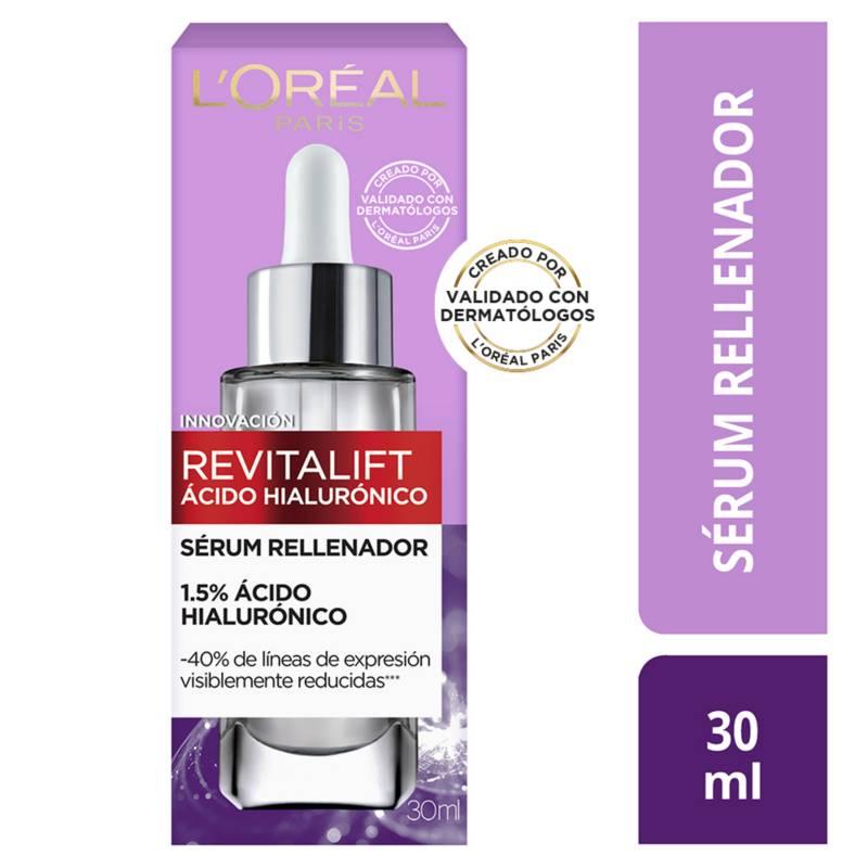 LOREAL - Sérum Facial Anti Arrugas Ácido Hialurónico Revitalift