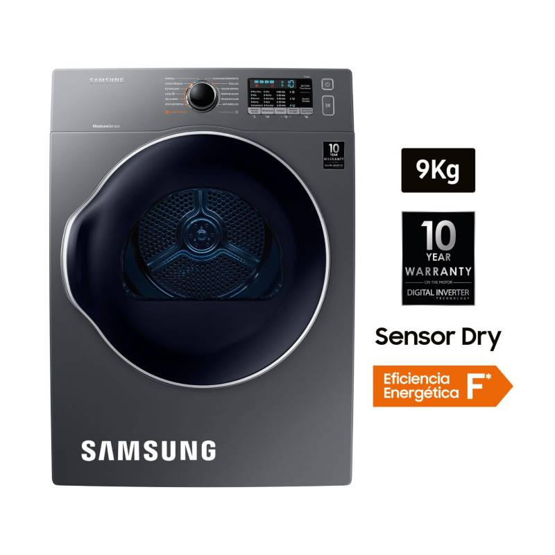 SAMSUNG - Secadora SensorDry 9 kg
