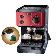 OSTER - Máquina para espresso Oster® roja