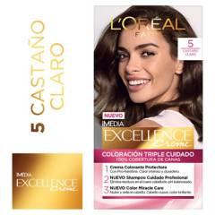 Excellence - Tinte para cabello 5 Castaño Claro 162.5 ml