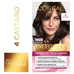 Excellence - Tinte para cabello 4 Castaño 162.5 ml