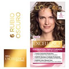 Excellence - Tinte para cabello 6 Rubio Oscuro 162.5 ml