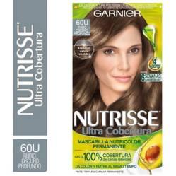 Nutrisse - Tinte para Cabello Ultra Cobertura 600 Rubio Oscuro Profundo 157 ml