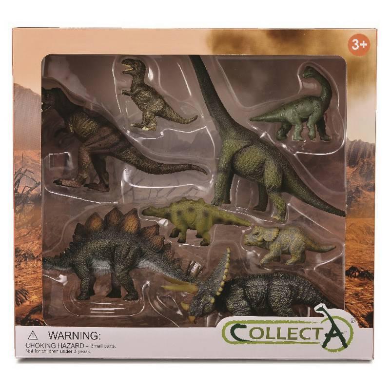 COLLECTA - Set 8 Piezas Dinosaurios