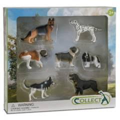 COLLECTA - Set 7 Piezas Perros