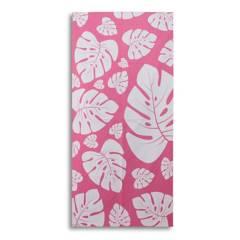 MOZZAFIATO - Toalla de Playa Microfibra Pink 78 x 160 cm