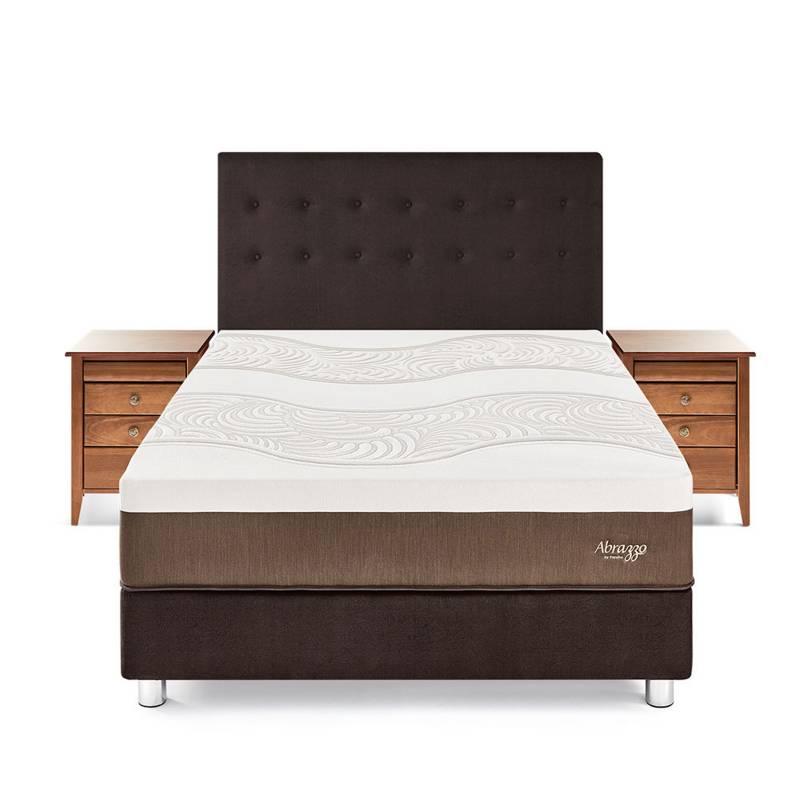 PARAÍSO - Dormitorio Royal Abrazzo King + 2 Veladores