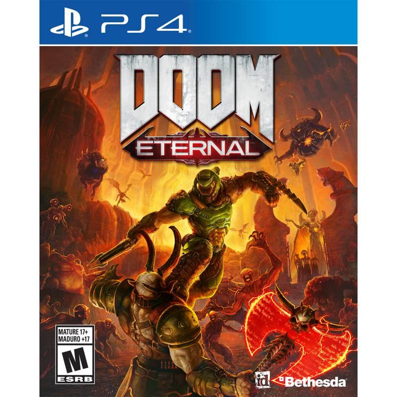 BETHESDA - Videojuego Doom Eternal - Latam - PS4