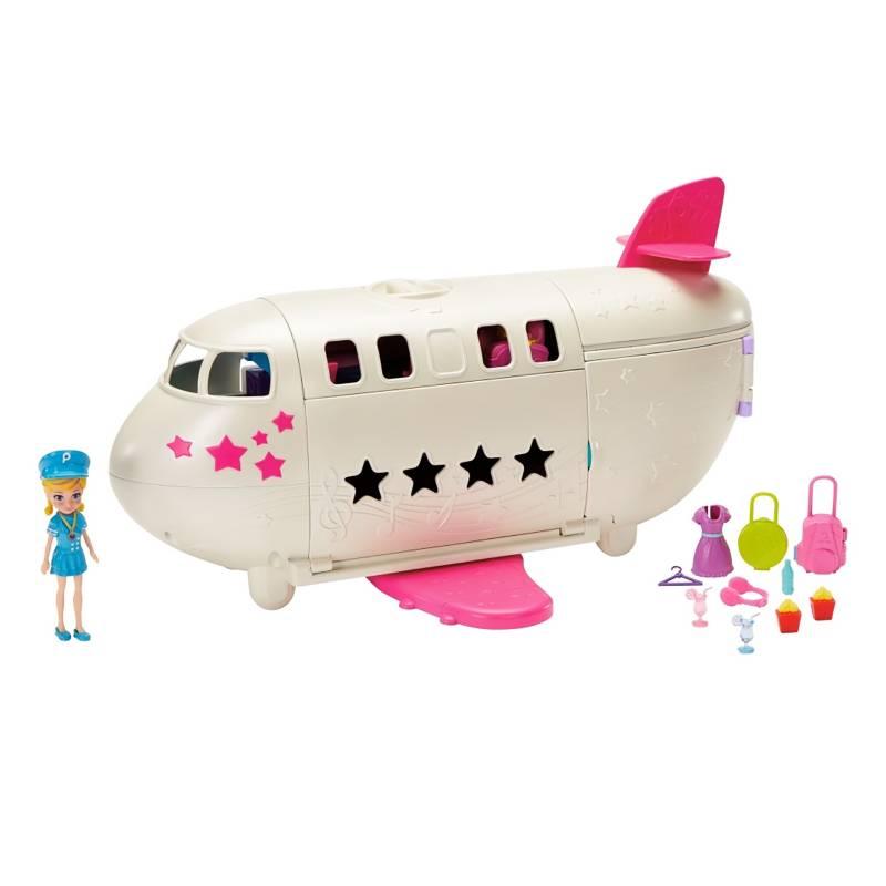 POLLY POCKET - Muñeca Polly Pocket Mega Jet de Viaje
