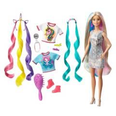 BARBIE - Muñeca Peinados De Fantasía
