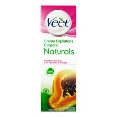 Veet - Crema Depilatoria Naturals Extracto Papaya x 100 ml