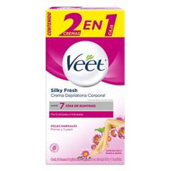 Veet - Crema Depilatoria Piel Normal 2 x 100 ml