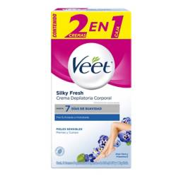 Veet - Crema Depilatoria Piel Sensible 2 x 100 ml