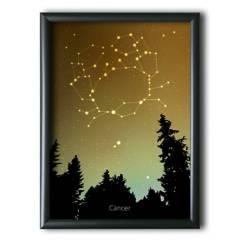 AQUELLAS ESTRELLAS - Cáncer Constelación Night Sky 30x40 cm