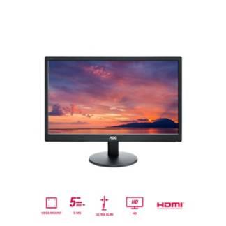 """AOC - Monitor AOC E2070SWHN, 19.5"""", HD, HDM, VGA"""