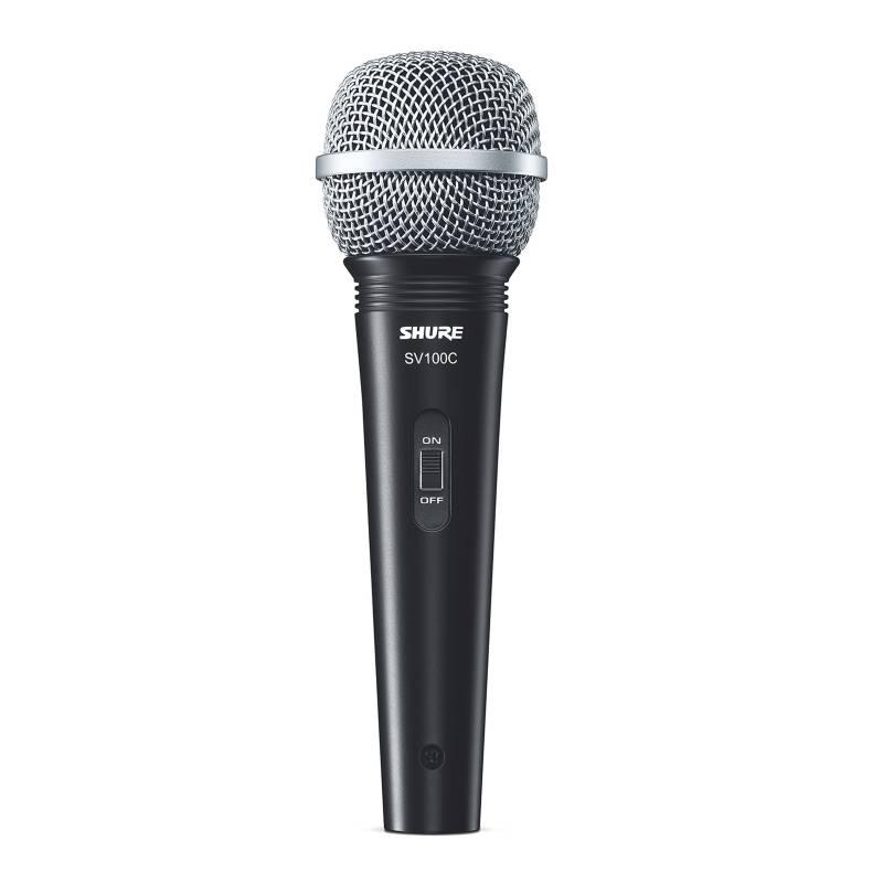 SHURE - Micrófono De Mano Con Cable